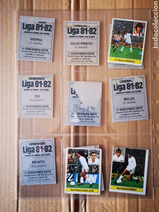 Álbum de fútbol completo: Album completo 81/82 1981/82 con 396 cromos.Leer descripción. - Foto 36 - 191797202