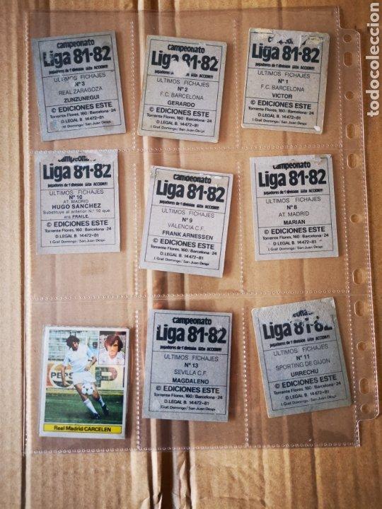 Álbum de fútbol completo: Album completo 81/82 1981/82 con 396 cromos.Leer descripción. - Foto 46 - 191797202