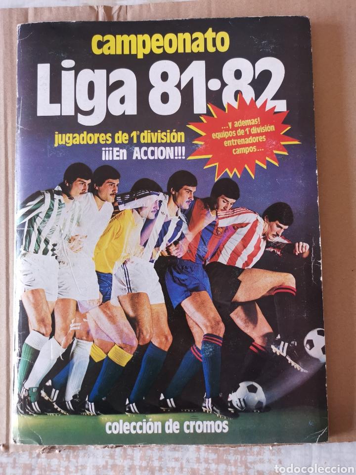 ALBUM COMPLETO 81/82 1981/82 CON 396 CROMOS.LEER DESCRIPCIÓN. (Coleccionismo Deportivo - Álbumes y Cromos de Deportes - Álbumes de Fútbol Completos)
