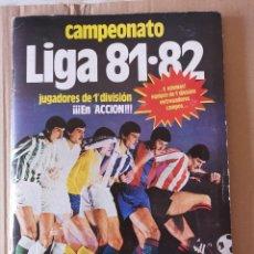Álbum de fútbol completo: ALBUM COMPLETO 81/82 CON 396 CROMOS.. Lote 191797202