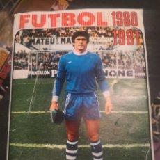 Álbum de fútbol completo: ALBUM DE CROMOS DE FÚTBOL, LIGA 1980 1981 80/81 FHER (DISGRA) COMPLETO CON TODO LO EDITADO,-FICHAJES. Lote 191934212