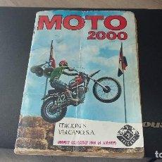 Álbum de fútbol completo: MOTO 2000 ALBUN COMPLETO, EDICIONES VULCANO, 1973. Lote 192055193