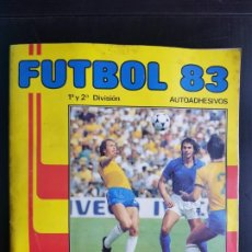 Album de football complet: ÁLBUM CROMOS 100% COMPLETO FÚTBOL 83 PANINI 1982-1983 ORIGINAL MUNDIAL ESPAÑA 82. Lote 192074185
