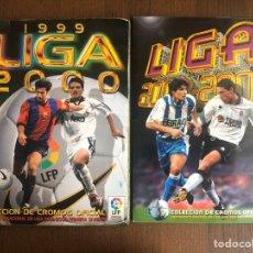 Álbum de fútbol completo: ALBUM LIGA ESTE FUTBOL 99-00 MUY COMPLETO 1999-2000 Y REGALO ALBUM 2000-2001 CASI COMPLETO. Lote 192178926