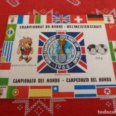 Álbum de fútbol completo: (LLL)ALBUM CAMPEONATO MUNDIAL FUTBOL INGLATERRA 1966 (66 PAGINAS). Lote 192702196