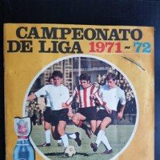 Álbum de fútbol completo: ÁLBUM CROMOS 100% COMPLETO FÚTBOL LA CASERA CAMPEONATO DE LIGA 1971-1972 ORIGINAL 71-72. Lote 192740978