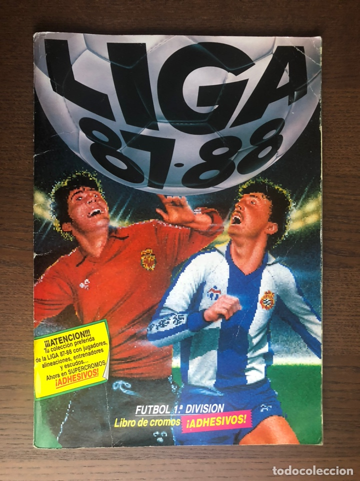 ALBUM FUTBOL LIGA ESTE 87-88 COMPLETO 1987-1988 BUEN ESTADO (Coleccionismo Deportivo - Álbumes y Cromos de Deportes - Álbumes de Fútbol Completos)
