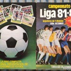 Álbum de fútbol completo: ALBUM DE CROMOS FUTBOL LIGA 81-82 (COMPLETO) - (EDICIONES ESTE 1981). Lote 193013675