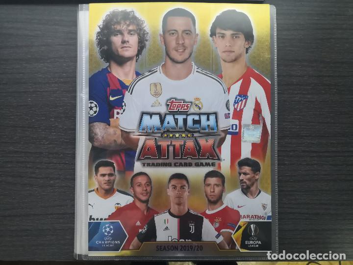 MATCH ATTAX UEFA CHAMPIONS LEAGUE 2019-20 SPAIN (Coleccionismo Deportivo - Álbumes y Cromos de Deportes - Álbumes de Fútbol Completos)