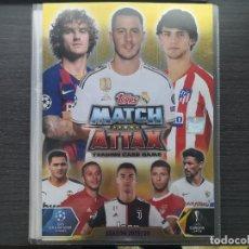 Álbum de fútbol completo: MATCH ATTAX UEFA CHAMPIONS LEAGUE SPAIN. Lote 193337273