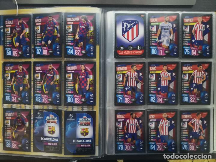 Álbum de fútbol completo: MATCH ATTAX UEFA CHAMPIONS LEAGUE 2019-20 SPAIN - Foto 2 - 193337273