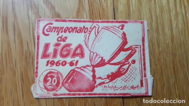 Álbum de fútbol completo: BUSCADO ALBUM CAMPEONATO DE LIGA 1960 - 61 EDITORIAL FHER COMPLETO + sobre vacio - Foto 13 - 124591275