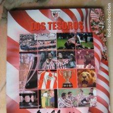 Álbum de fútbol completo: LOS TESOROS DEL ATHLETIC. Lote 193958661