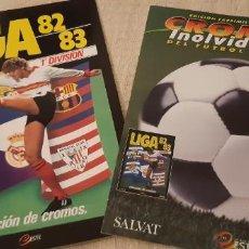 Álbum de fútbol completo: LIGA 82 83 EDICIÓN FACSÍMIL ÁLBUM Y FASCÍCULO CROMOS INOLVIDABLES FÚTBOL ESPAÑOL SALVAT ESTE PANINI. Lote 193977676