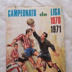 Álbum de fútbol completo: ÁLBUM DISGRA 1970/71 COMPLETO. Lote 193985953