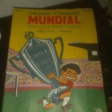 Album de football complet: ALBUM FUTBOL MUNDIAL 1962 CHILE. Lote 193987421