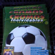 Álbum de fútbol completo: FASCÍCULOS DE ÁLBUMES CROMOS INOLVIDABLES DEL FÚTBOL ESPAÑOL 36 FASCÍCULO NO ÁLBUM, EDICIÓN FACSÍMIL. Lote 193998381