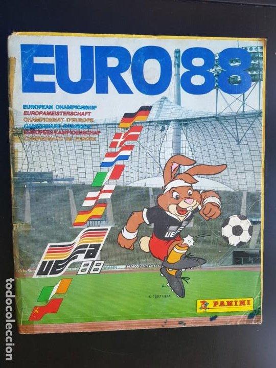 ÁLBUM CROMOS FÚTBOL EURO 88 PANINI 100% COMPLETO ORIGINAL EUROCOPA UEFA (Coleccionismo Deportivo - Álbumes y Cromos de Deportes - Álbumes de Fútbol Completos)