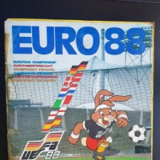 Álbum de fútbol completo: ÁLBUM CROMOS FÚTBOL EURO 88 PANINI 100% COMPLETO ORIGINAL EUROCOPA UEFA. Lote 194074485