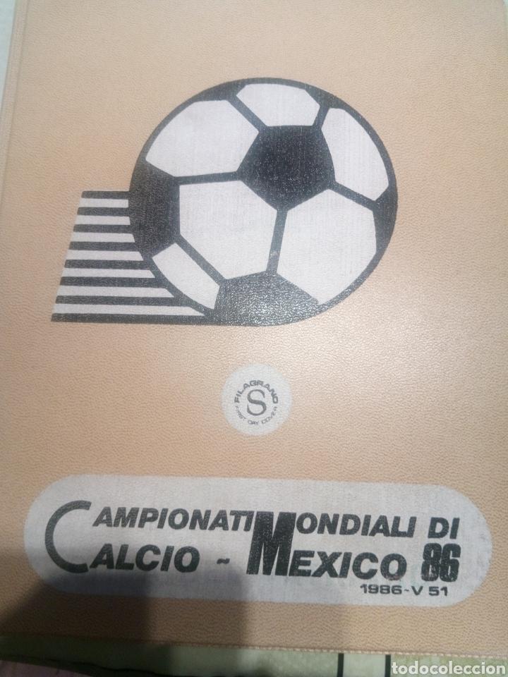 CAMPEONATO MUNDIAL MÉXICO 1986 (Coleccionismo Deportivo - Álbumes y Cromos de Deportes - Álbumes de Fútbol Completos)