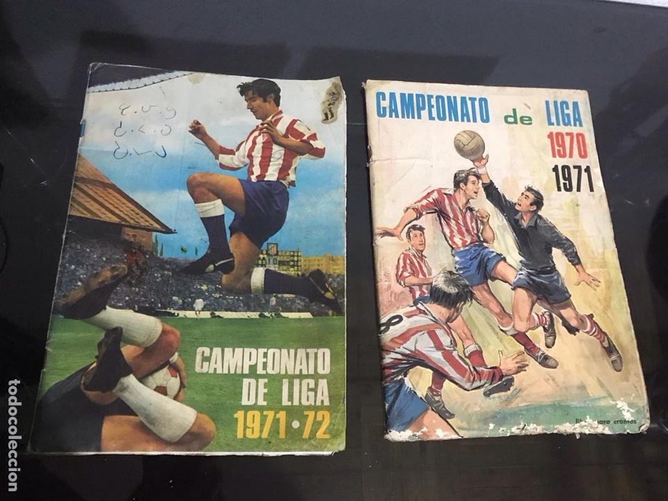 LOTE DE ÁLBUMES DE FÚTBOL ANTIGUO (Coleccionismo Deportivo - Álbumes y Cromos de Deportes - Álbumes de Fútbol Completos)