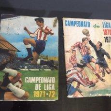 Álbum de fútbol completo: LOTE DE ÁLBUMES DE FÚTBOL ANTIGUO. Lote 194166986