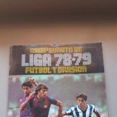 Álbum de fútbol completo: ÁLBUM COMPLETO LIGA ESTE 78 79 1978 1979 EN MUY BUEN ESTADO CON TODO LO EDITADO -1 Y POSTER COMPLETO. Lote 112101602