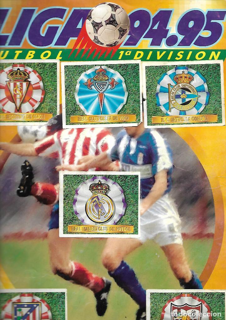 ALBUM DE CROMOS FUTBOL LIGA 94-95 EDITORIAL ESTE TOTALMENTE COMPLETO CON CROMOS DOBLES Y FICHAJES (Coleccionismo Deportivo - Álbumes y Cromos de Deportes - Álbumes de Fútbol Completos)