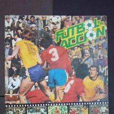 Álbum de fútbol completo: ALBUM COMPLETO FÚTBOL EN ACCIÓN MUNDIAL 82 ESPAÑA - DANONE. Lote 194203223
