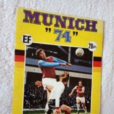 Álbum de fútbol completo: ALBUM MUNDIAL FUTBOL MUNICH 74 COCA COLA FHER COMPLETO Y CON EL POSTER. Lote 194284528