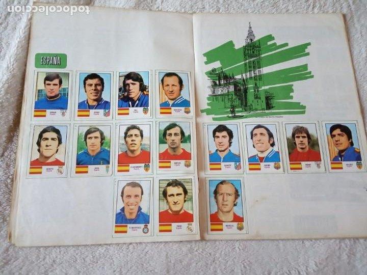 Álbum de fútbol completo: ALBUM MUNDIAL FUTBOL MUNICH 74 FHER COMPLETO Y CON PUBLICIDAD COCA COLA - Foto 2 - 194285215