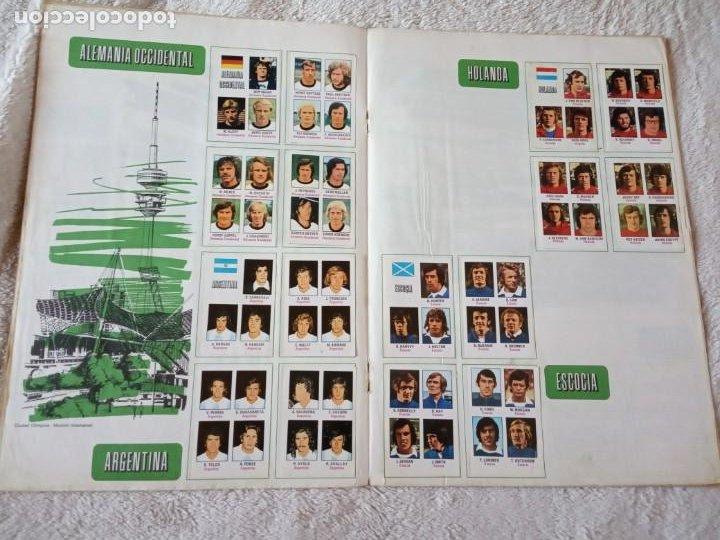 Álbum de fútbol completo: ALBUM MUNDIAL FUTBOL MUNICH 74 FHER COMPLETO Y CON PUBLICIDAD COCA COLA - Foto 3 - 194285215