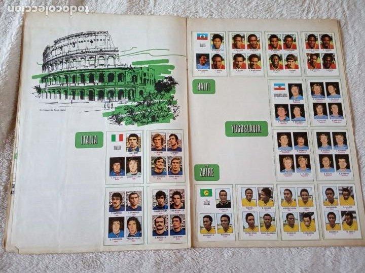 Álbum de fútbol completo: ALBUM MUNDIAL FUTBOL MUNICH 74 FHER COMPLETO Y CON PUBLICIDAD COCA COLA - Foto 4 - 194285215