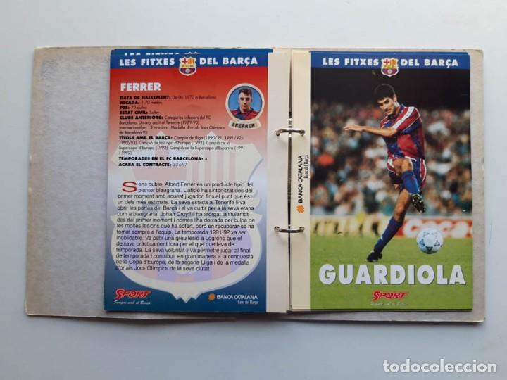 Álbum de fútbol completo: Album completo con 20 Fitxes del Barça Sports Banca Catalana - Foto 5 - 194292530