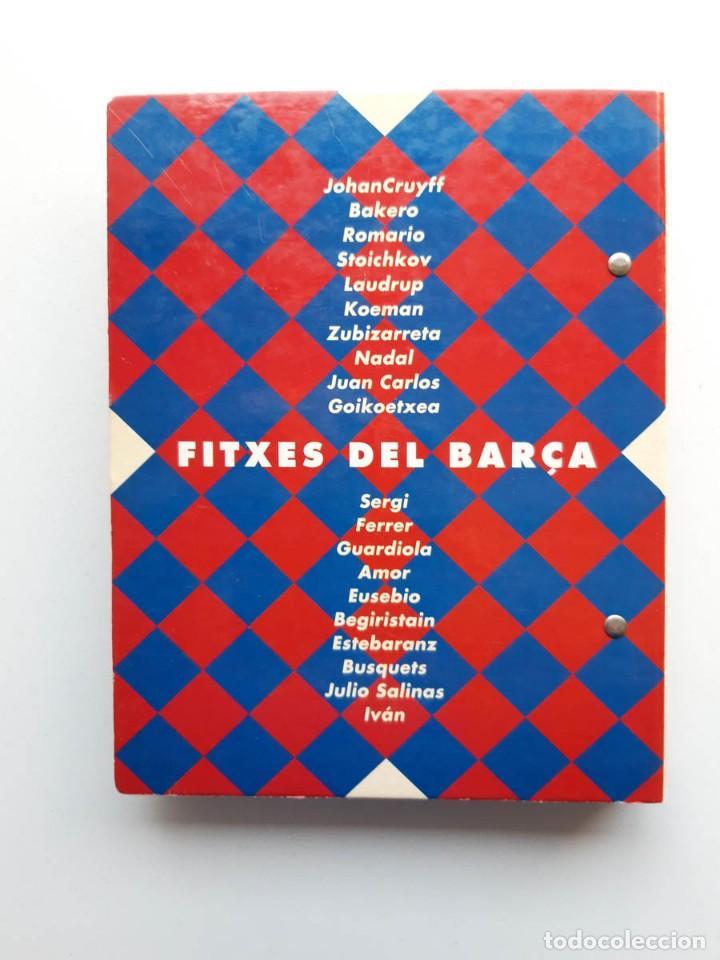Álbum de fútbol completo: Album completo con 20 Fitxes del Barça Sports Banca Catalana - Foto 6 - 194292530