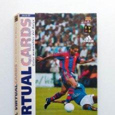 Álbum de fútbol completo: VIRTUAL CARDS GOLES MEMORABLES DEL BARÇA MUNDO DEPORTIVO COMPLETO 16 CARDS. Lote 194292703
