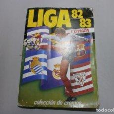 Álbum de fútbol completo: ALBUM COMPLETO LIGA 82 83 ESTE CON MUCHOS CROMOS DOBLES INTERESANTES . Lote 194304486