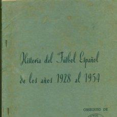 Álbum de fútbol completo: ALBUM COLUMBA HISTORIA Y ASES DEL FUTBOL ESPAÑOL 1954. Lote 194316628