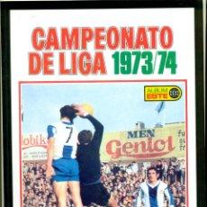 Álbum de fútbol completo: CAMPEONATO DE LIGA1973-74 REEDICION DE SALVAT. Lote 194317827