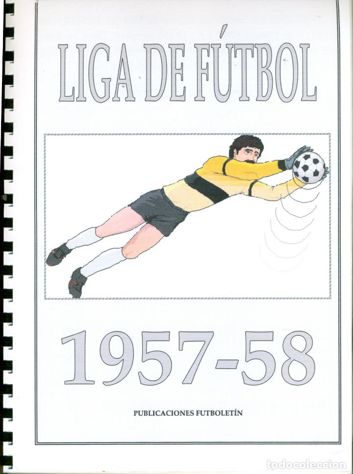 LIGA DE FUTBOL 1957-58 COMPLETA (Coleccionismo Deportivo - Álbumes y Cromos de Deportes - Álbumes de Fútbol Completos)