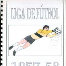 Álbum de fútbol completo: LIGA DE FUTBOL 1957-58. Lote 194318663