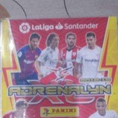 Álbum de fútbol completo: FICHERO ADRENALYN 2018-2019 EN PERFECTO ESTADO. Lote 194385787