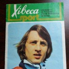 Álbum de fútbol completo: ÁLBUM FÚTBOL XIBECA SPORT. CERVEZAS DAMM. 1973. COMPLETO.. Lote 194390562