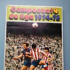 Álbum de fútbol completo: ALBUM COMPLETO FHER DISGRA FUTBOL LIGA 1974 1975 74 75 1974-75 CN 24 FICHAJES ESCALZA BREITNER DANI. Lote 194406901