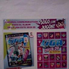 Álbum de fútbol completo: LOS 2 CROMOS CONMEMORATIVOS LIGA ESTE 19-20 (2019 2020) PANINI 2019 20 . Lote 194528233