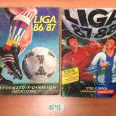 Álbum de fútbol completo: LOTE ÁLBUMES LIGA ESTE VER FOTOS. Lote 194591306