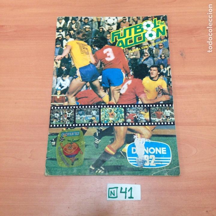 DANONE 82 COMPLETO (Coleccionismo Deportivo - Álbumes y Cromos de Deportes - Álbumes de Fútbol Completos)