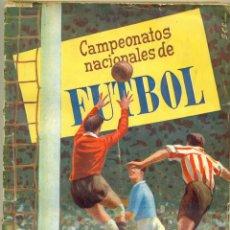 Álbum de fútbol completo: CAMPEONATOS NACIONALES DE FUTBOL 1956 DE RUIZ ROMERO ORIGINAL Y COMPLETO. Lote 194604015
