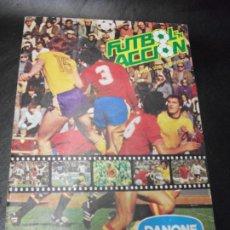 Álbum de fútbol completo: ALBUM DE CROMOS FUTBOL ACCION DE DANONE CROMO 1982 COMPLETO. Lote 194605755