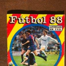 Álbum de fútbol completo: ALBUM LIGA FUTBOL 88 PANINI-CROMO CROM COMPLETO. Lote 194619518